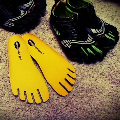 Thank You Vibram Fivefingers for awesome customer service!! Got my replacement insoles in 2days. Can use my green komodo ls again!