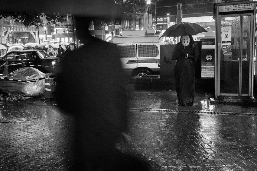 Halloween-Shibuya, Tokyo, Japan, 2017 Blackandwhite Streetphotography The Street Photographer - 2018 EyeEm Awards