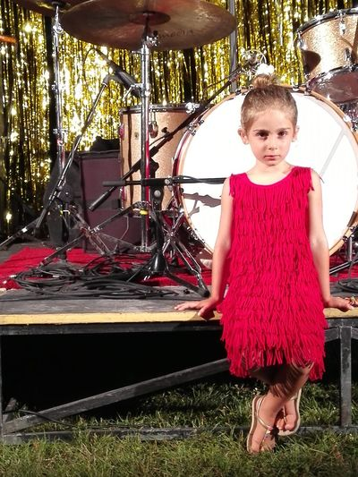 Portrait Huaweiphotography Mate7 Familyfirst Gig Concert Stage Fashion Photography Truelove Italy SantarcangeloDiRomagna Full Length Looking At Camera Front View