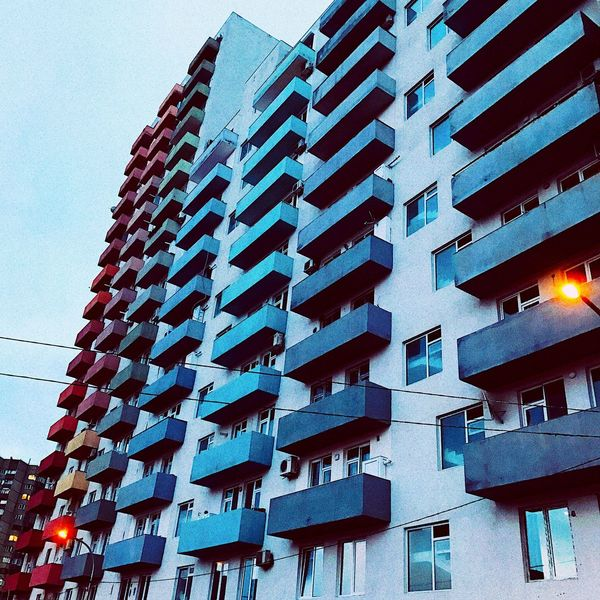 Tbilisi Georgia Architecture Apartment Colorful Building Exterior Tbilisijungle Staysexy The Architect - 2017 EyeEm Awards