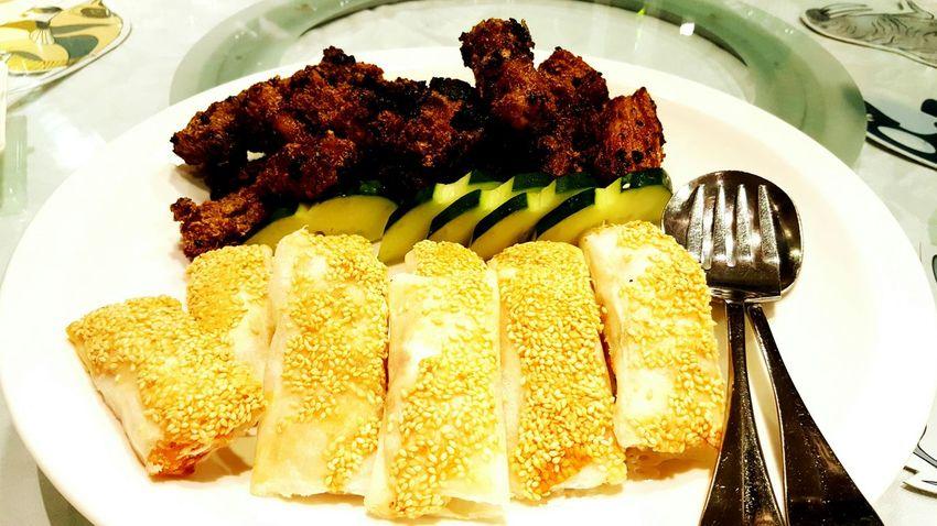 排骨,蝦捲 尾牙晚宴 EyeEm Best Shots DELICIOUS FOOD ♡ Taking Photos Dinner Time Eating Food 老爺酒店 Celebration Party On A Date