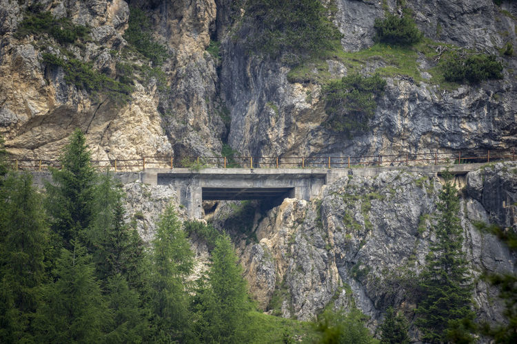 Abandoned & Derelict Arch Arch Bridge Architectural Column Architecture Bridge Bridge - Man Made Structure Built Structure Connection Day Forest Land Mountain Nature No People Outdoors Plant Rock Rock Formation Scenics - Nature Solid Transportation Tree