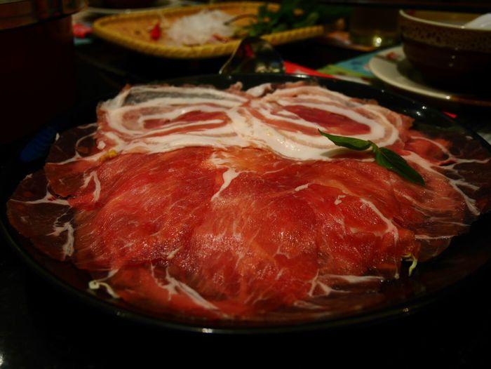 Shabu-shabu Suki Sukiyaki Sliced Pork