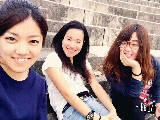 Hanging Out Awesome Seaside Hi! Relaxing Girls Talk I had a great time;)we talked about prattle of love😍