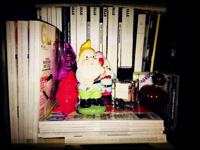 Spotted!! My Little Desk Dwarfs Hangin Out
