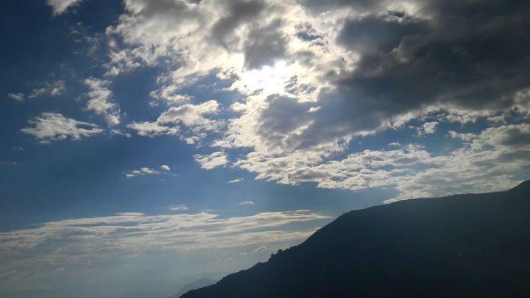 Cielo Azul Sol Y Nubes Colombia Paraiso☀🍃 Fotografia