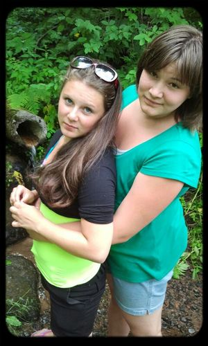 Smile Photo My Sister And I <3 I Love You ! ))) I very love my sister))))