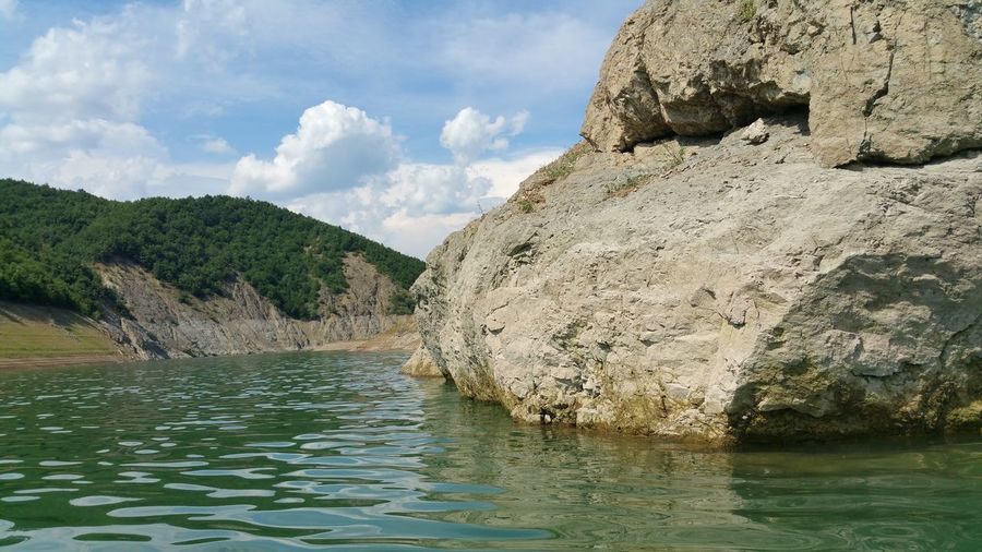 Lake of fierza - ALBANIA.