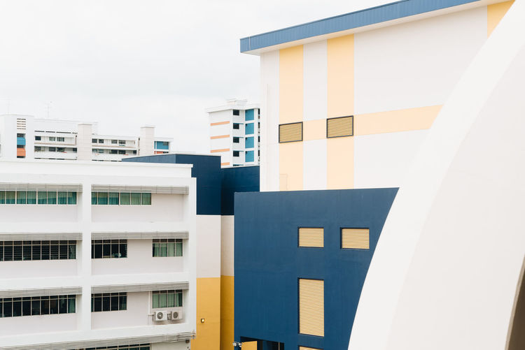 The Architect - 2018 EyeEm Awards Apartment Architecture Building Building Exterior Built Structure City Close-up Day Low Angle View Modern Multi Colored Nature No People Office Outdoors Pattern Residential District Sky Wall - Building Feature White Color Window
