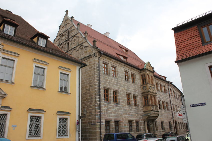 Amberg Amberg Amberg In Germany Architecture Building Building Exterior Built Structure City Cloud - Sky Day Nature No People Outdoors Residential District Sky Window