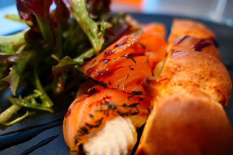 Food Food And Drink Freshness Close-up Indoors  Ready-to-eat No People Plate Salmone Fish