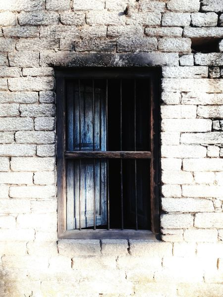 Window Old Little Damaged
