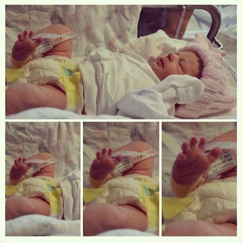 Those toes TBT  Newborn Newbean