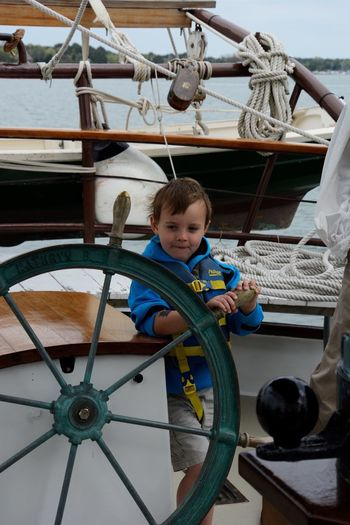 Boys Nautical Vessel Portrait First Eyeem Photo