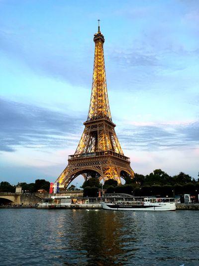 A night Paris Parisjet'aime Eiffel Tower