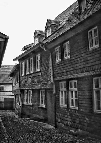 Architecture Building Exterior Built Structure House No People Day 3XSPUnity IMography Black & White Blackandwhite Photography Monochrome Photograhy Goslar Germany
