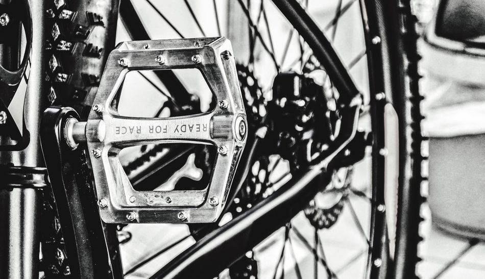 Monochrome Wintersport Detail While Waiting For Snow My New Bike From My Point Of View Beauty In Ordinary Things The Great Outdoors - 2016 EyeEm Awards