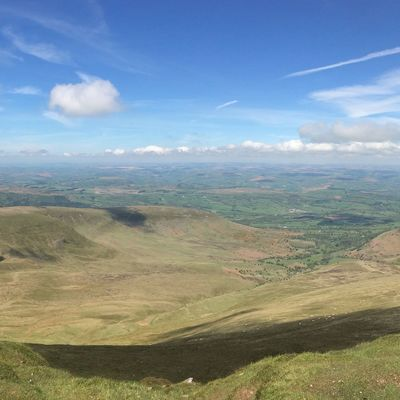 Wales View Nature Hills Pen Y Fan Sky Landscape