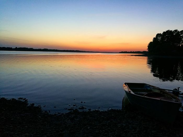 Sunset Water Nature Beauty In Nature Blue Latvija Relaxing Life Emotions Colors Love Water Ideal Man EyeEm Nature Lover