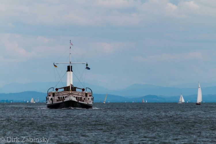 Bodensee Lakeconstance Dampfschiff Steamboat