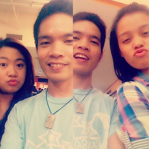 Selfie with my two girlfriend @catelapuz and Cams