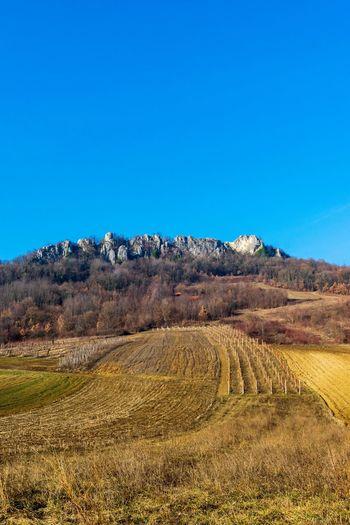 Little Kalnik. Clear Sky Mountain Blue Sky Landscape Geology Physical Geography Rock Formation Natural Landmark Rugged