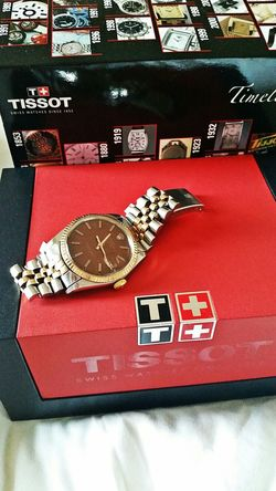 Sorry I cannot afford a replacement for your vintage Rolex yet. For normal days, you can use this Tissot. Rolex Tissot Fathersdaygift