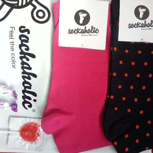 Socks 100% ibéricos. Llegó mi pedido de sockaholic_com :))) Love Color Socks Sockaholic