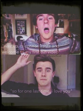 Because every real o2l fans cried.... O2l Connor Franta