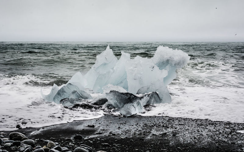 Beach Black Black Beach Black Sand Glacier Ice Iceland Iceland_collection Jökulsárlón Landscape Landscape_Collection Landscape_photography Landscapes With WhiteWall Waves