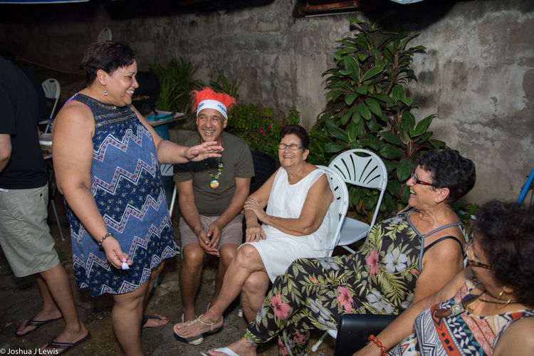 Party - Social Event Togetherness Fun Birthdayparty People Stillife Caribbean Trinidad And Tobago Smiling Beautiful People Laughing Family Time 75th Motherandchildren Grandmother Birthdaygirl Granny Happiness Jokes