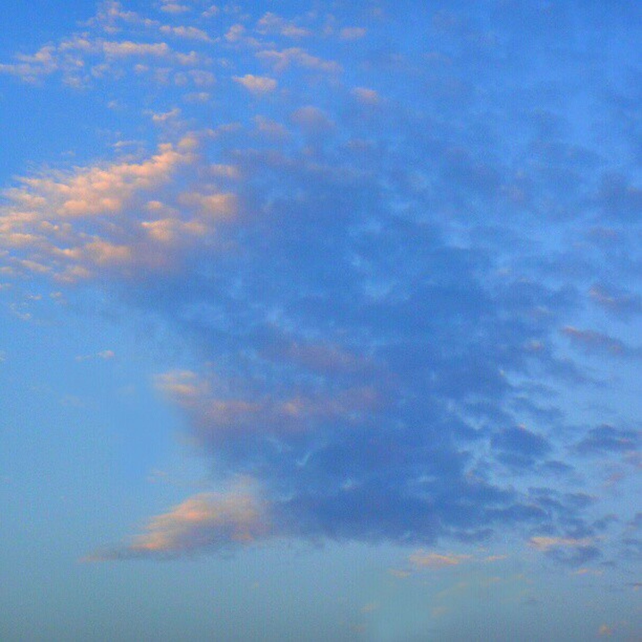 sky, blue, cloud - sky, beauty in nature, low angle view, tranquility, scenics, tranquil scene, backgrounds, nature, sky only, full frame, idyllic, cloud, cloudy, cloudscape, outdoors, no people, day, majestic