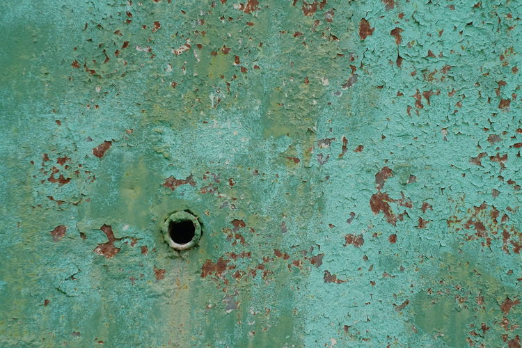 Full frame shot of rusty metal door