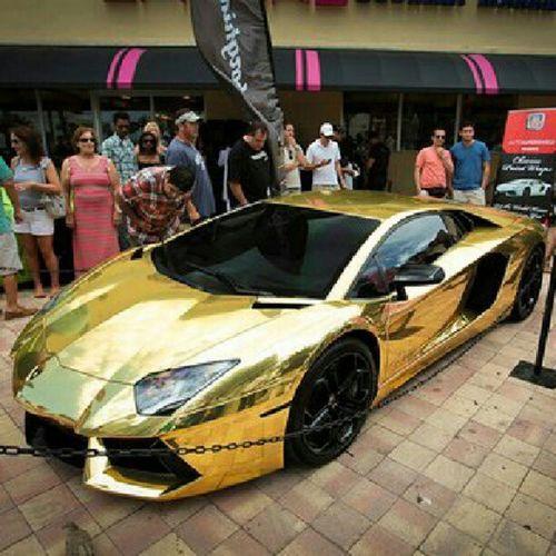 Gold Lamborgini  Lambo Car race racingcar racing lyx lyxcar motorsport