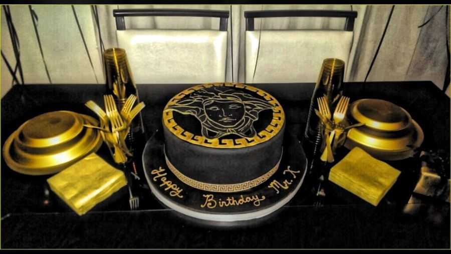 Thro Bck Thursday Versace My Birthday Cake wish i had a piece right about now.. Good times!!!