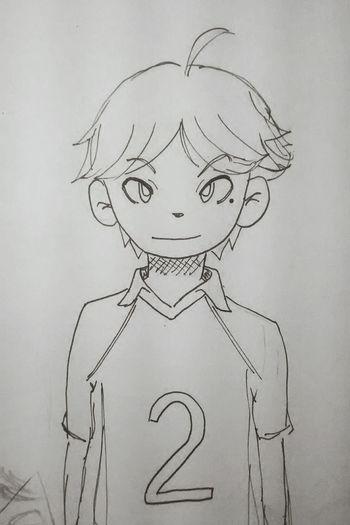 Chibi Suga😳❤ Haikyuu!! Haikyuu Sugawara Koushi Sugawarakoushi Anime Fanart Chibi Spokon Drawing Anime Draw Doodle Sketch Fast HQ!! Volleyball