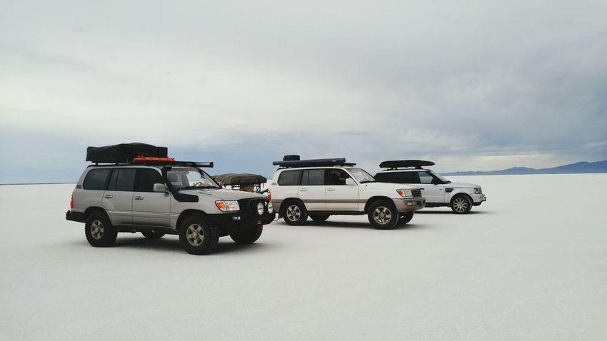 EyeEm Selects Bonneville Salt Flats Overlanding Land Cruiser 100 Series Range Rover