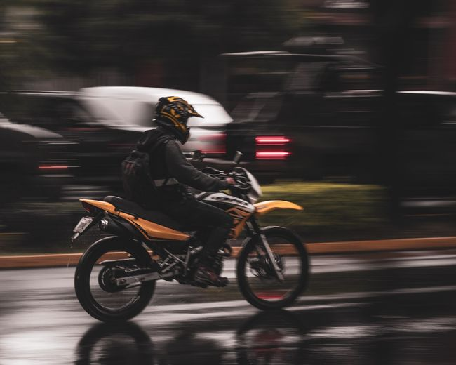Fast motorcycle
