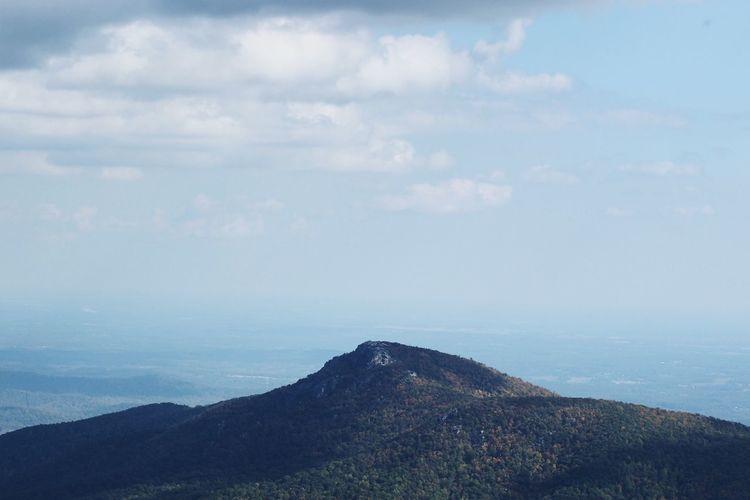 The tip. Mountain Peak Serenity