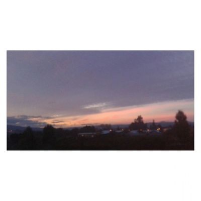 As long as of my window Beauty Sky Landscape Evening today