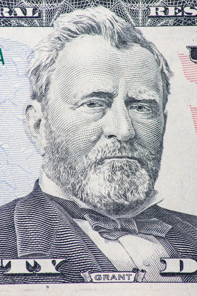 Former US president Ulysses S. Grant on fifty dollar note Close-up Currency Detail Dollar Notes Finance IRS Macro Macro Photography Money Portrait Presidents Ulysses S. Grant US Dollar Us Presidents USA