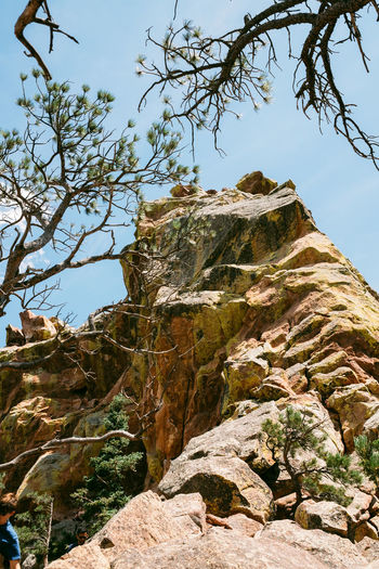 Rock Sky Nature