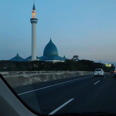 Time to pray. Mosque Pray Maghrib Allah allahuakbar masjid masjidagung aslisuroboyo