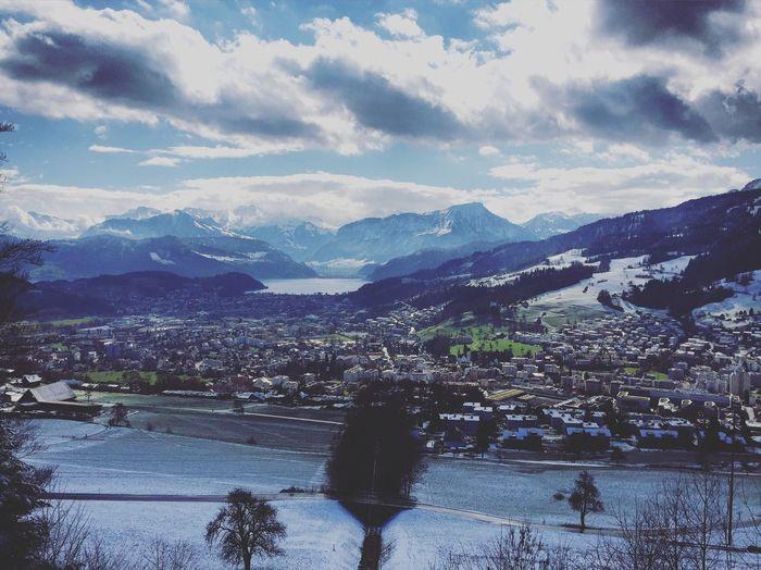 View Panorama Sonnenberg Luzern