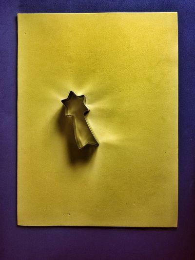 Star Object Closeview Cutter Shape Baking Still Concept