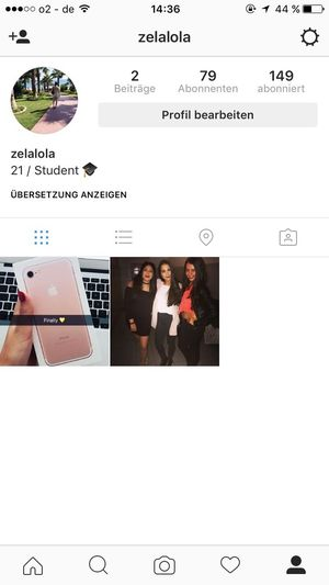 Go ahead and follow my instagram and I will love you forever ☺️: zelalola