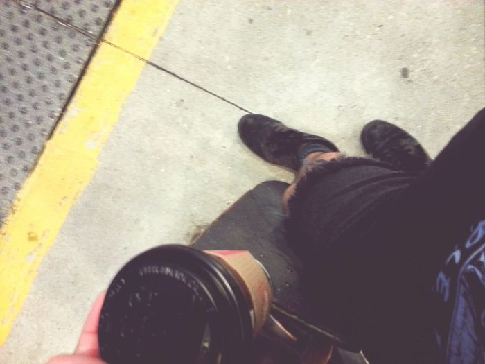 off to work with the things I love. Skateboard Coffee Shorts Morning
