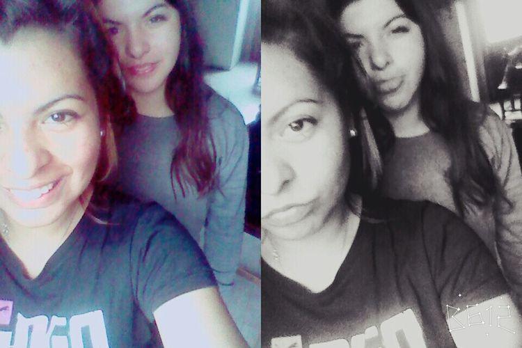 Buendiaaaa Selfie ✌ Sister ❤