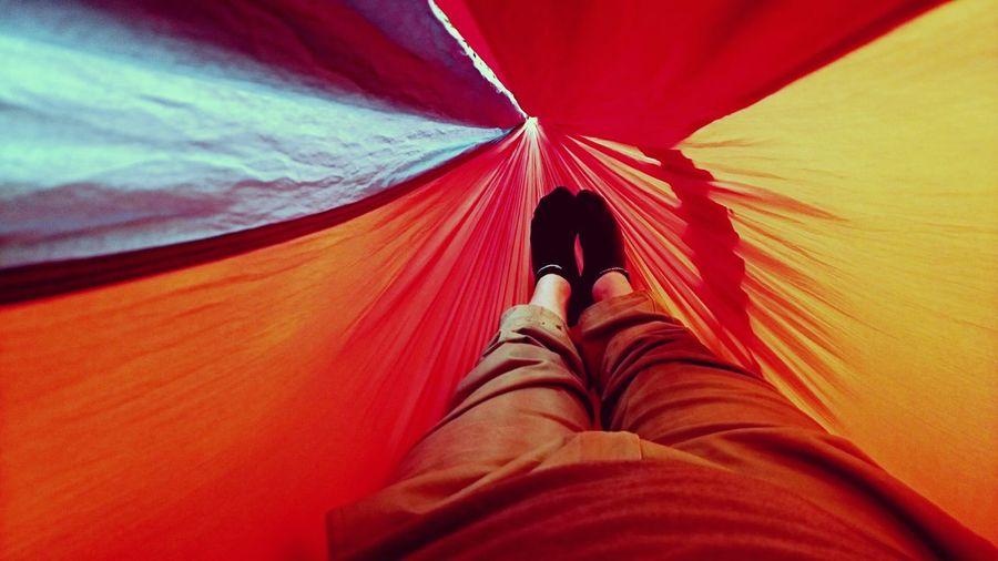 Relaxing Enjoying Life That's Me parachute dreams