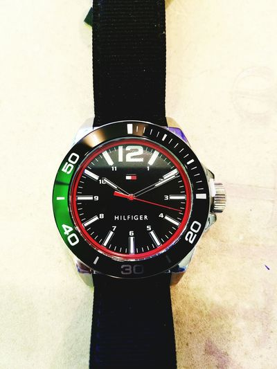 Watch Collection Hilfigher Tommy Black Strap My Collection Simple Brand Time Timepiece Hands Stylish